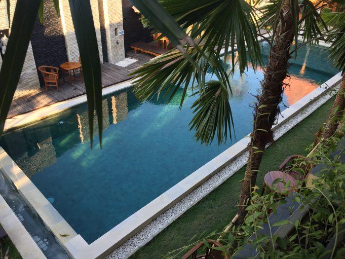 Canggu Pool im Nordwing Ressort